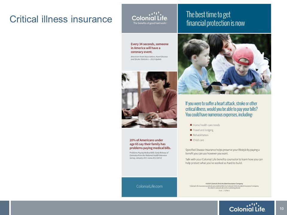 10 Critical illness insurance
