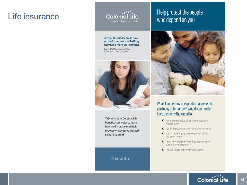 12 Life insurance