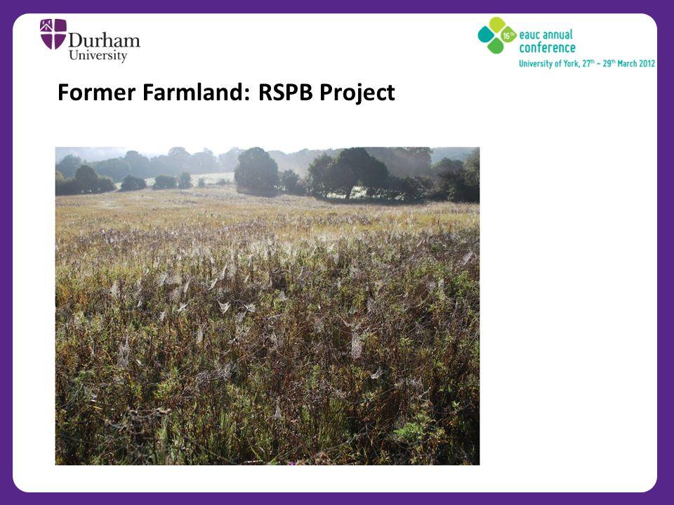 Former Farmland: RSPB Project