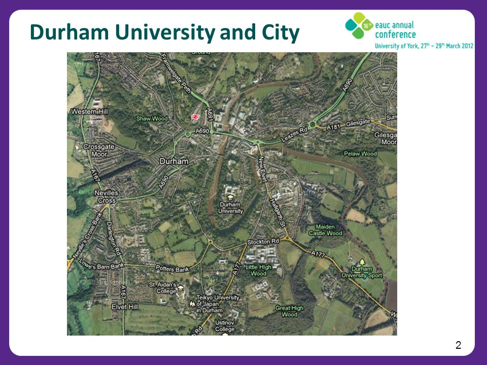 2 Durham University and City