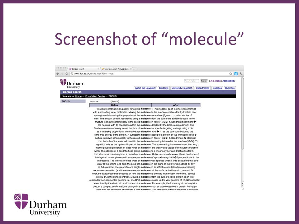 ∂ Screenshot of molecule