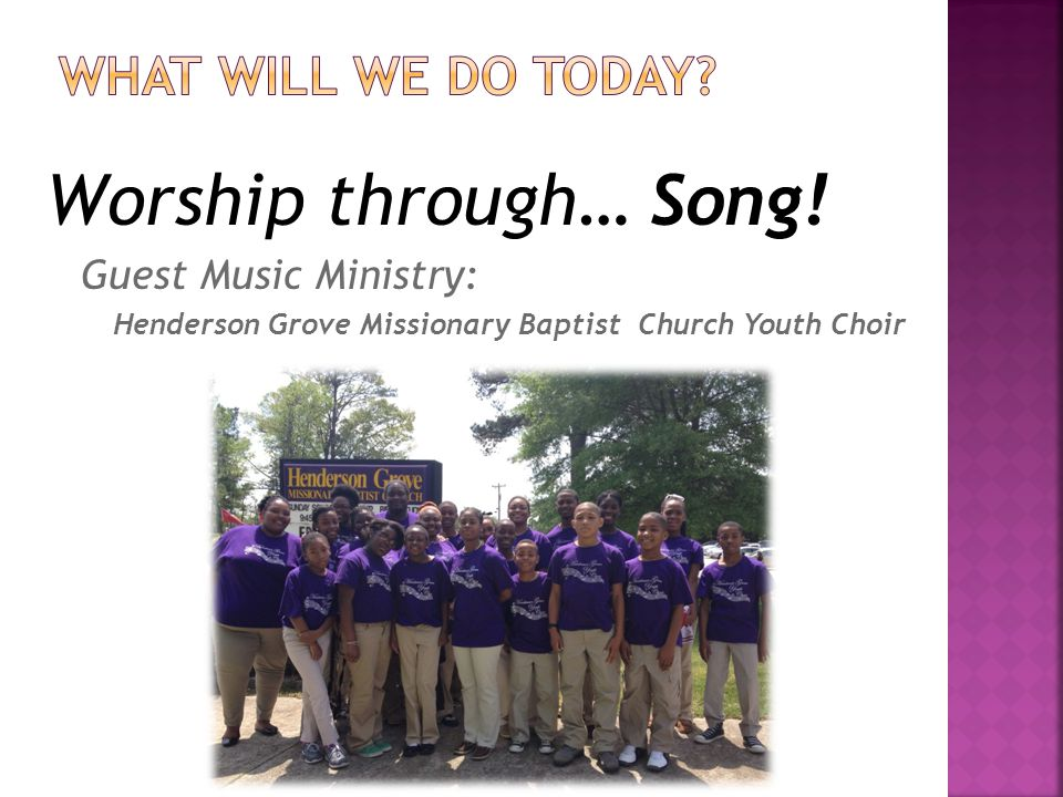 DCYM- Durham County Youth Missionary Department of the Durham County Missionary Union