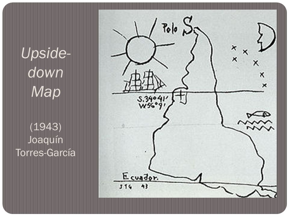 Upside- down Map (1943) Joaquín Torres-García