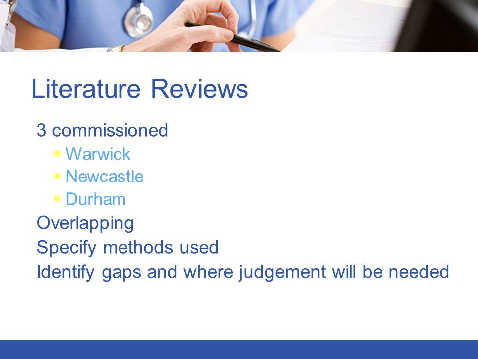 Consultation on frameworks