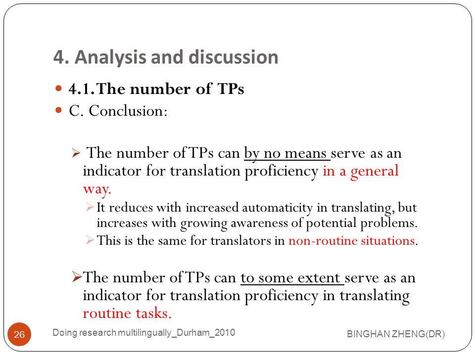 4.1.The number of TPs C.