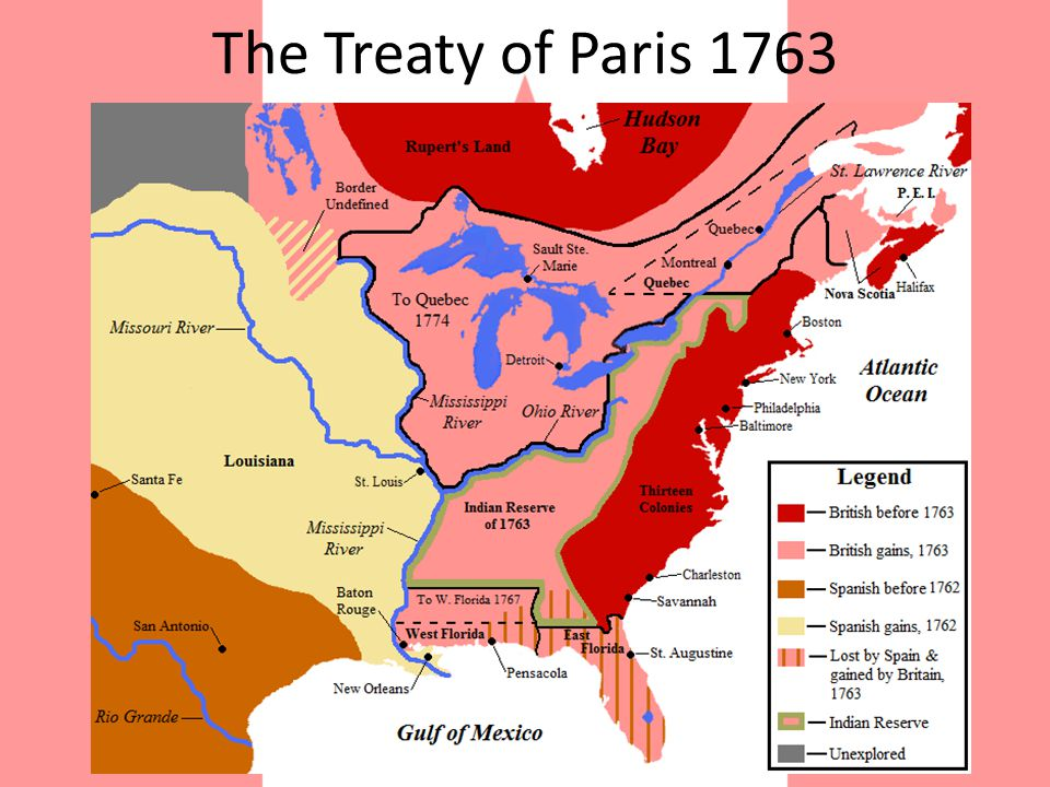 19 th Century Canadian History At the end of the 18 th century, France ceded much of Canada to Britain at the end of the Seven Years War in the Treaty of Paris 1763.