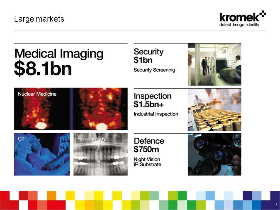 Large markets 7