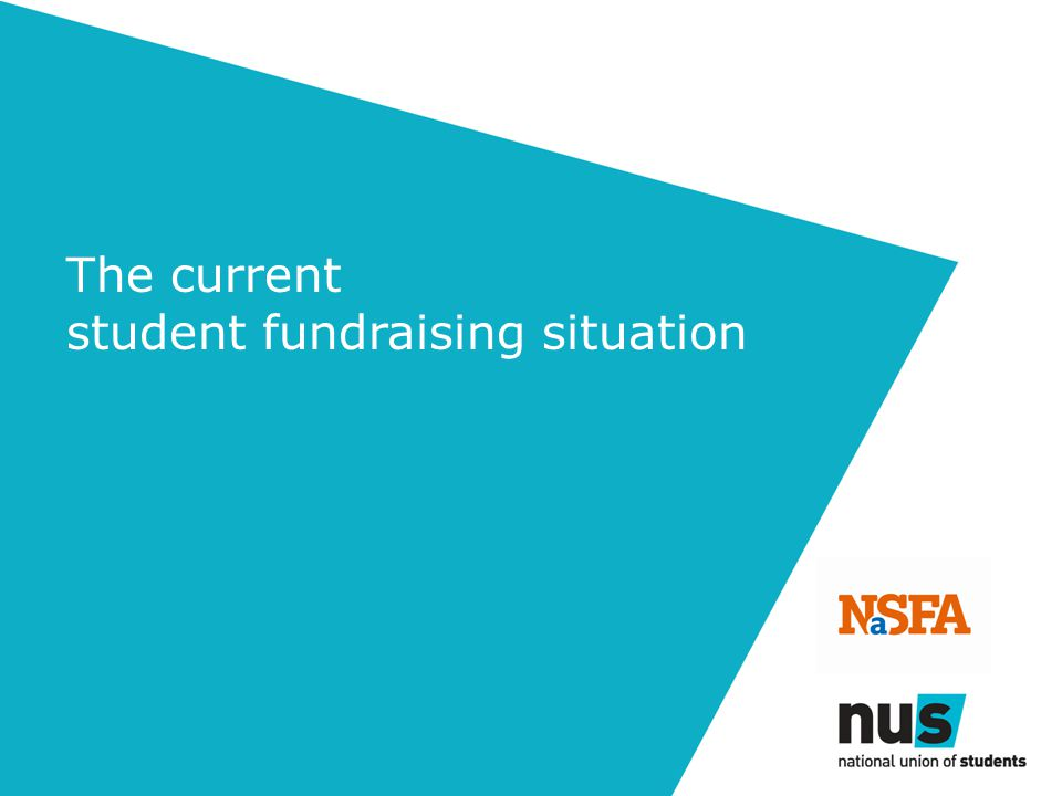 The current student fundraising situation