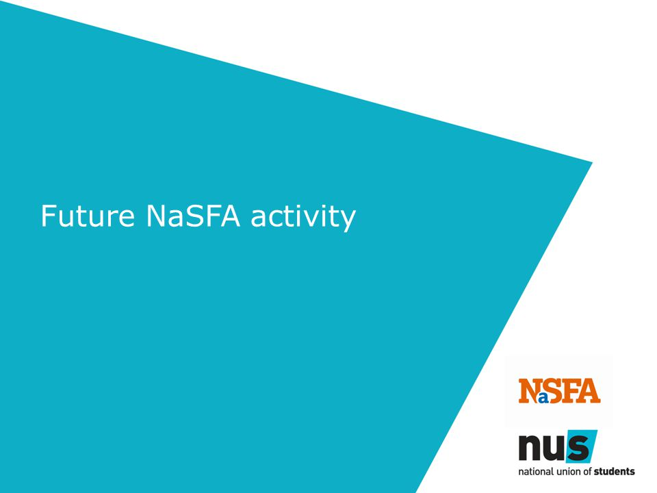 Future NaSFA activity