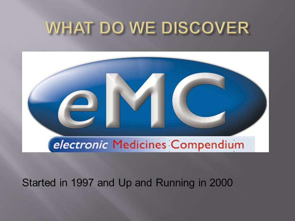 Started in 1997 and Up and Running in 2000