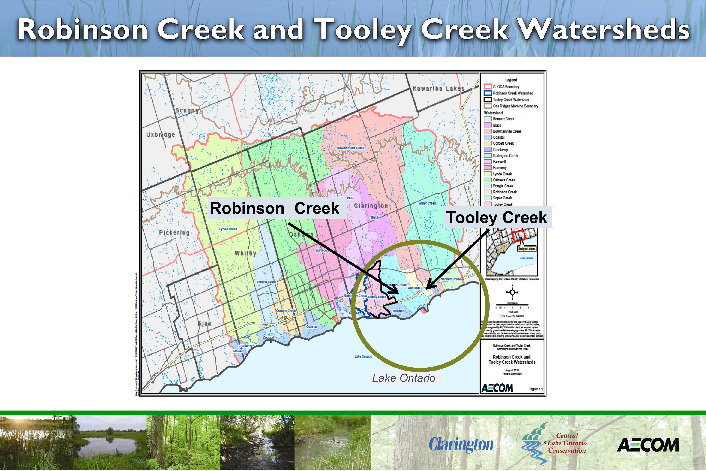3 Lake Ontario Tooley Creek Robinson Creek