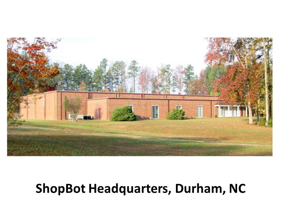 ShopBot Headquarters, Durham, NC