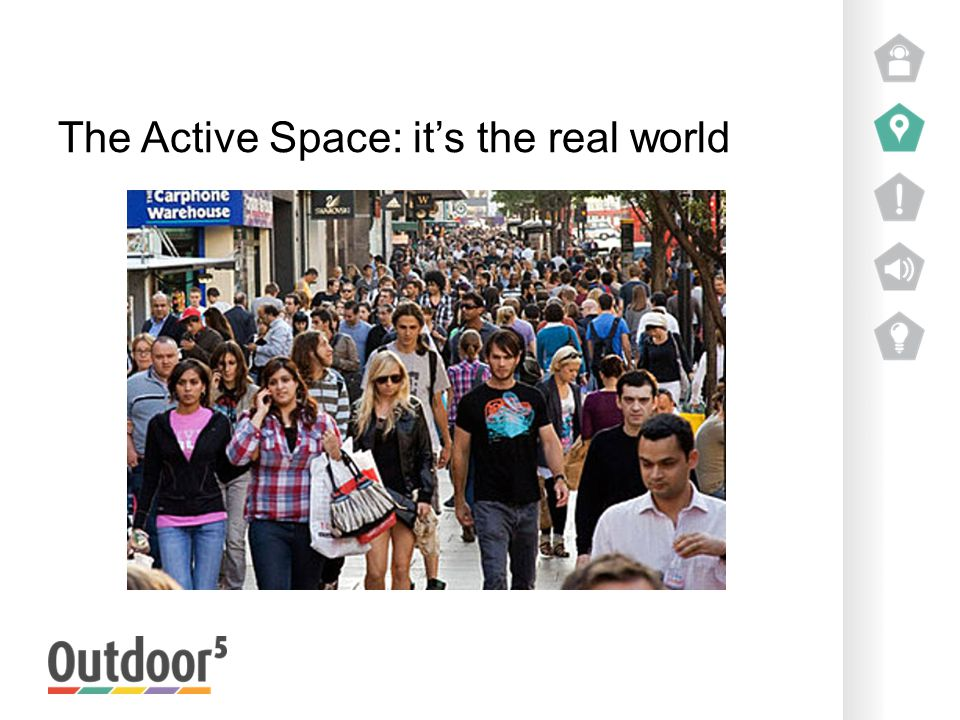 The Active Space: it's the real world