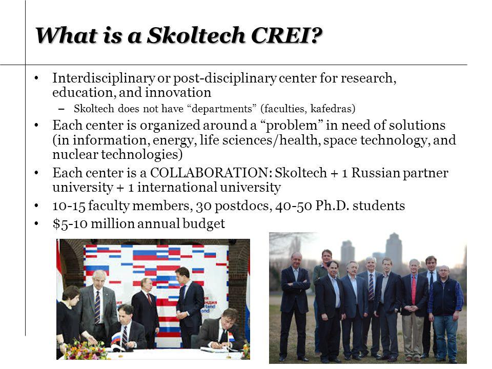 What is a Skoltech CREI.