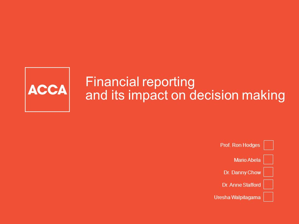 Page 3 | Proprietary and Copyrighted Information Financial reporting and its impact on decision-making Mario Abela Leader – Research and Development ACCA International Public Sector Conference, London December 4, 2014
