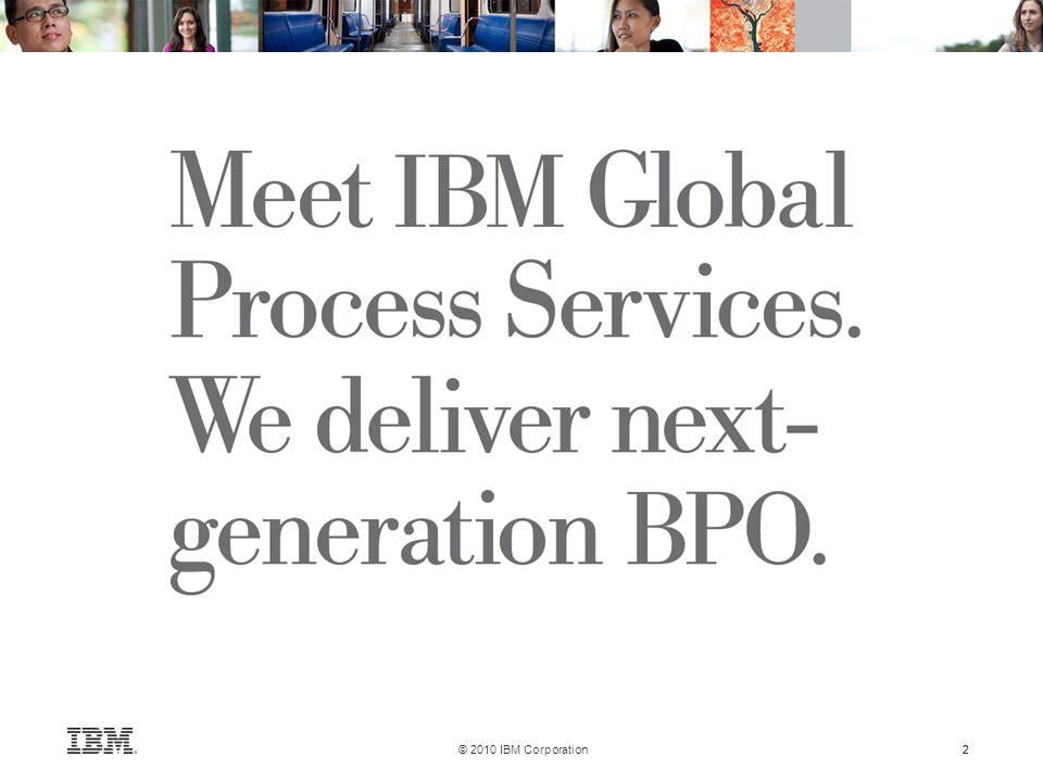 2 © 2010 IBM Corporation 2