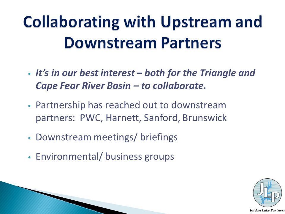 It's in our best interest – both for the Triangle and Cape Fear River Basin – to collaborate.