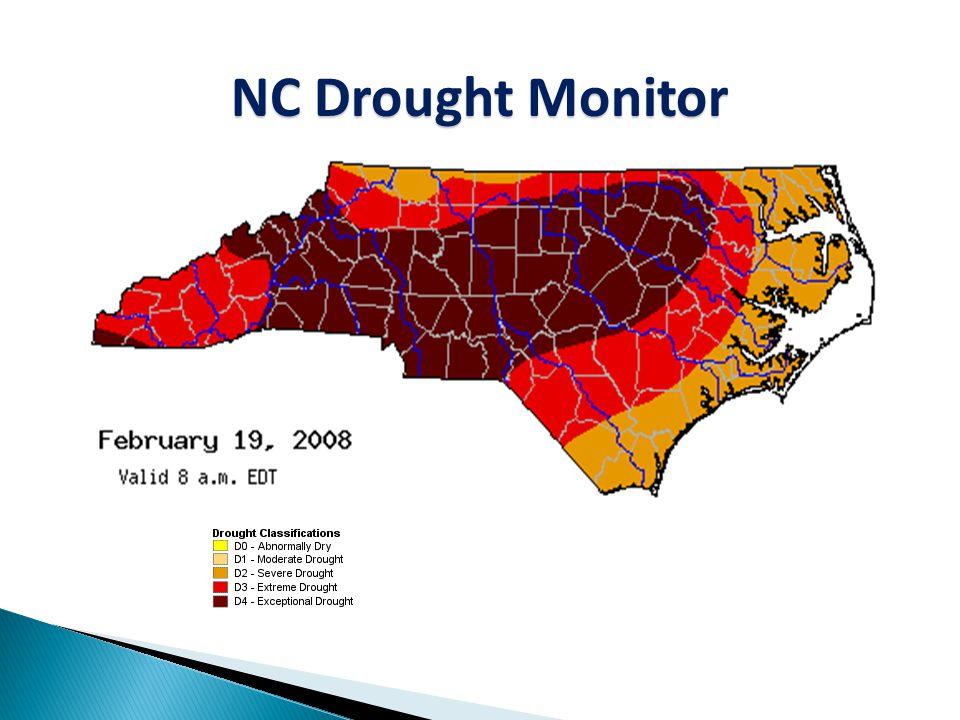 NC Drought Monitor