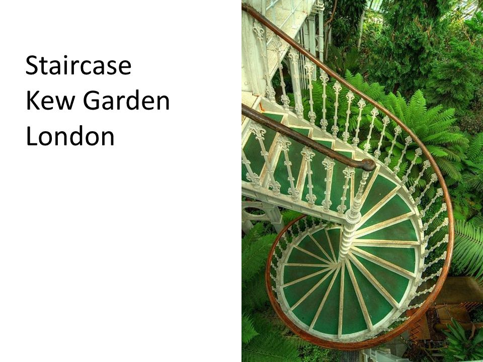 Staircase Kew Garden London