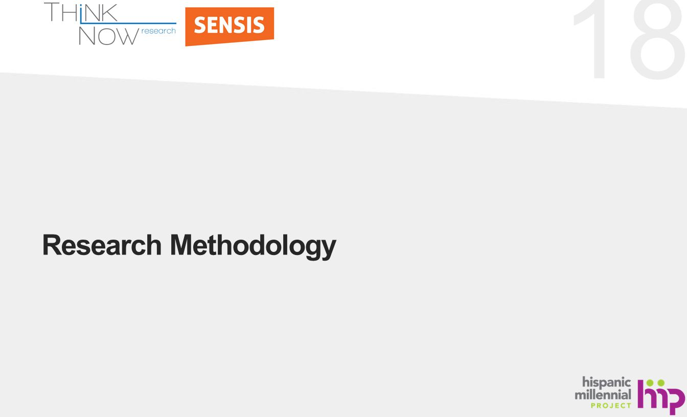 18 Research Methodology