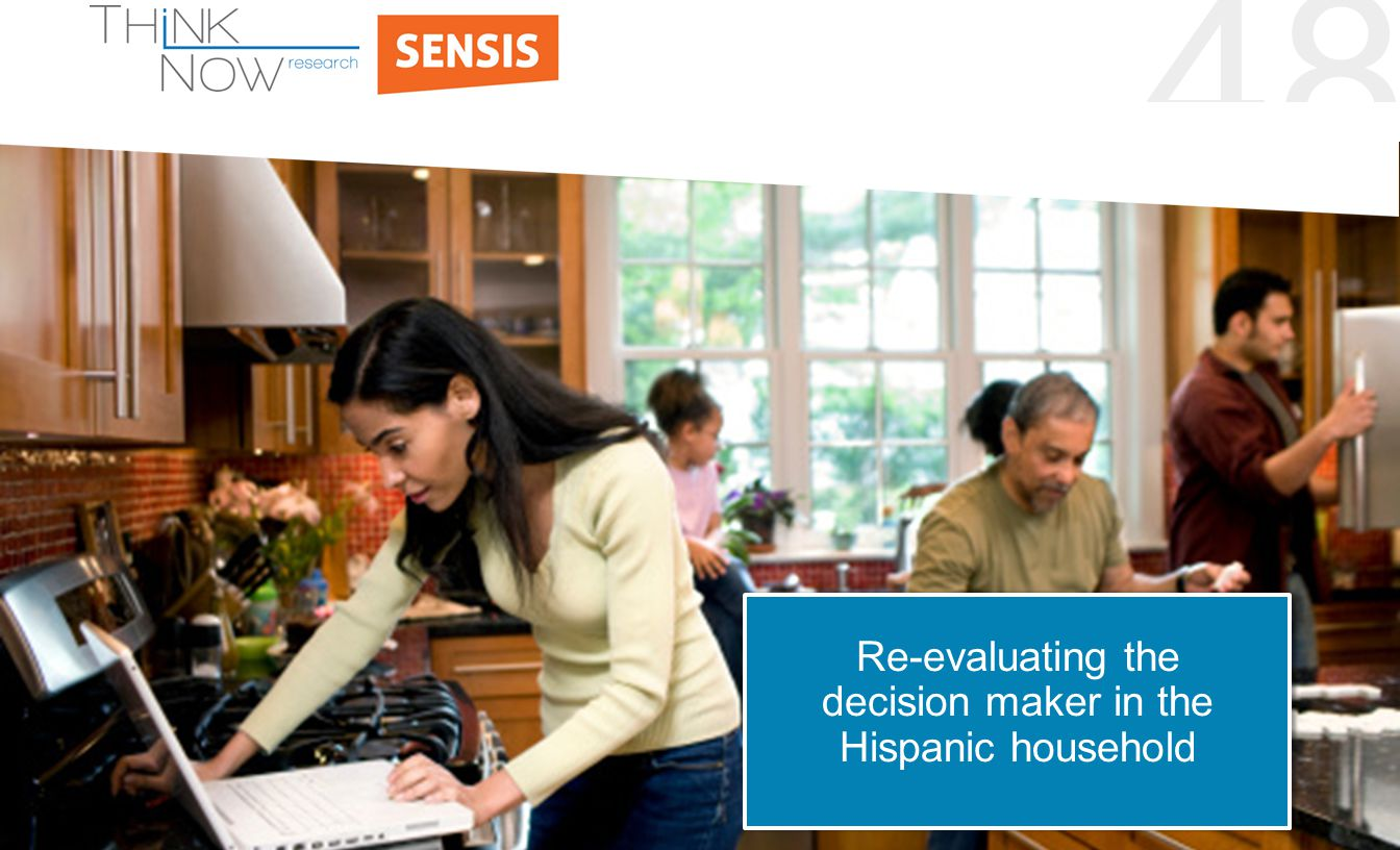 48 Re-evaluating the decision maker in the Hispanic household