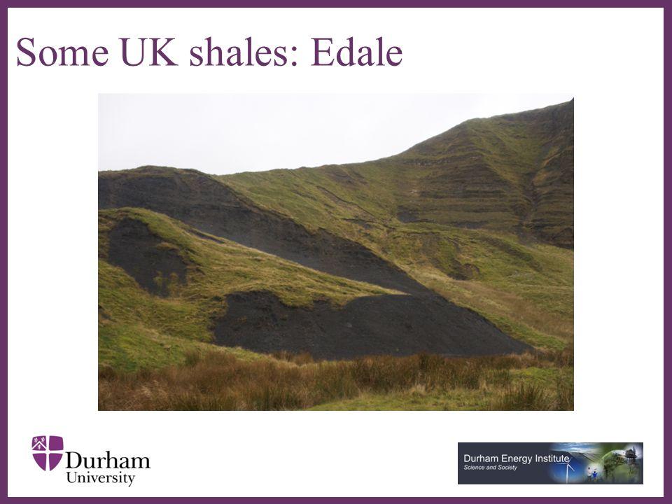 ∂ Some UK shales: Craster