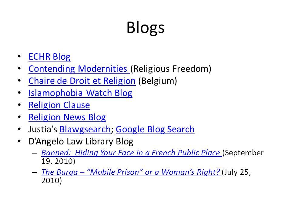 Blogs ECHR Blog Contending Modernities (Religious Freedom) Contending Modernities Chaire de Droit et Religion (Belgium) Chaire de Droit et Religion Is