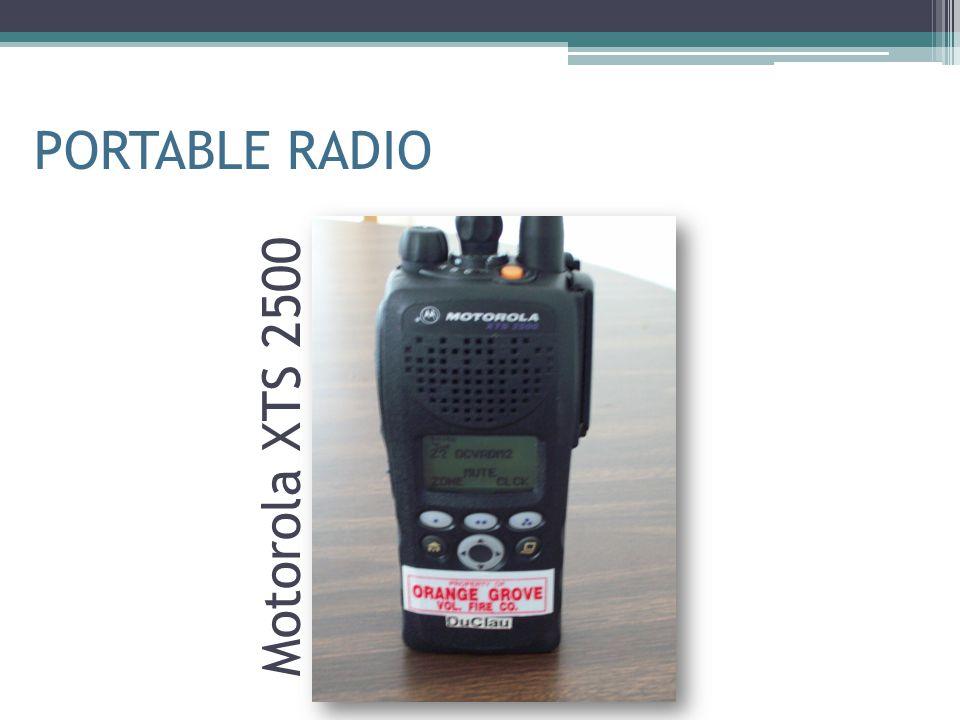 Motorola XTS 2500 PORTABLE RADIO