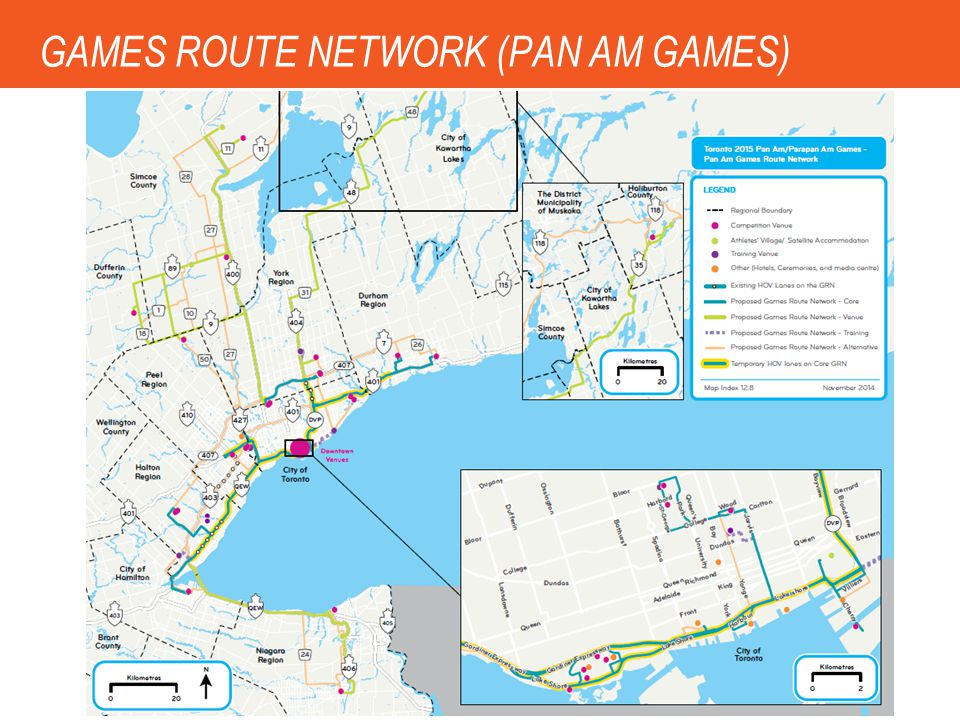 GAMES ROUTE NETWORK (PAN AM GAMES)