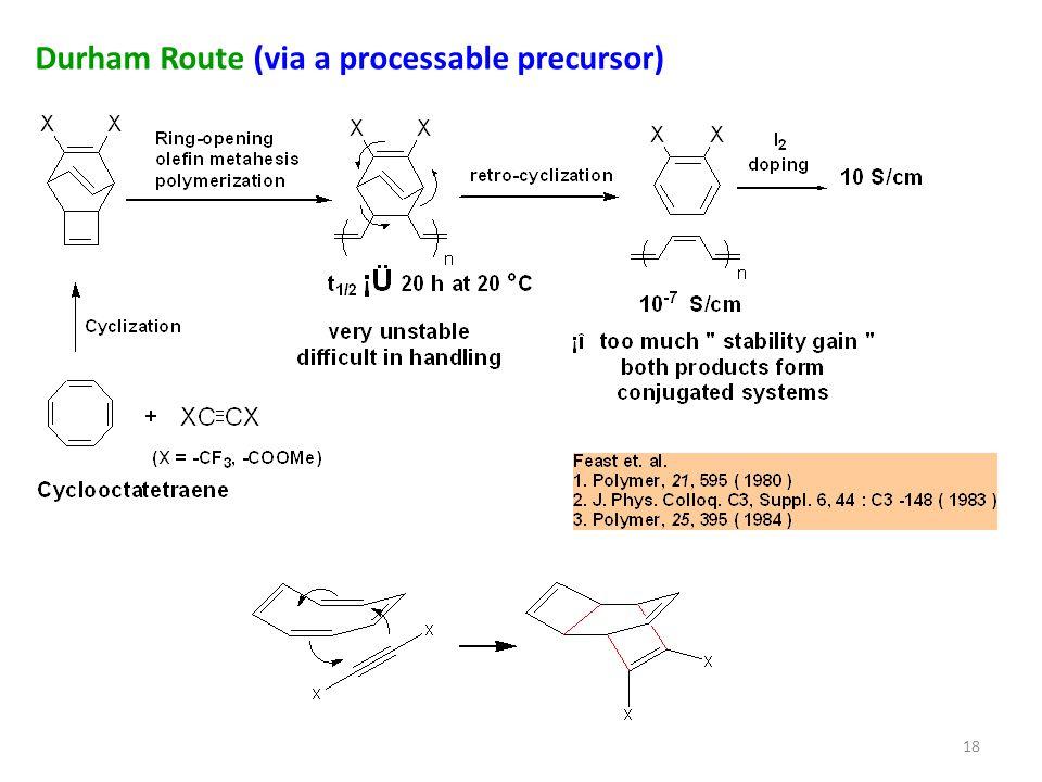 Durham Route (via a processable precursor) 18