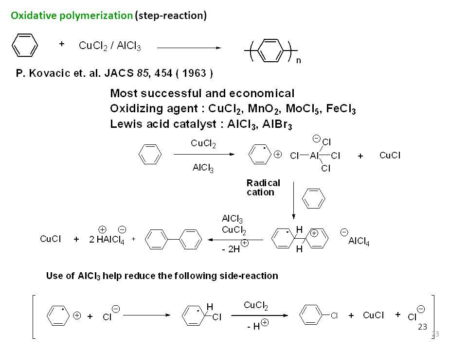 23 Oxidative polymerization (step-reaction) 23