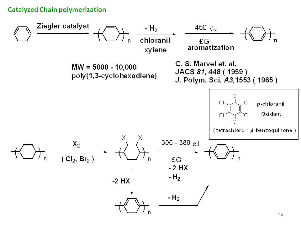 24 Catalyzed Chain polymerization