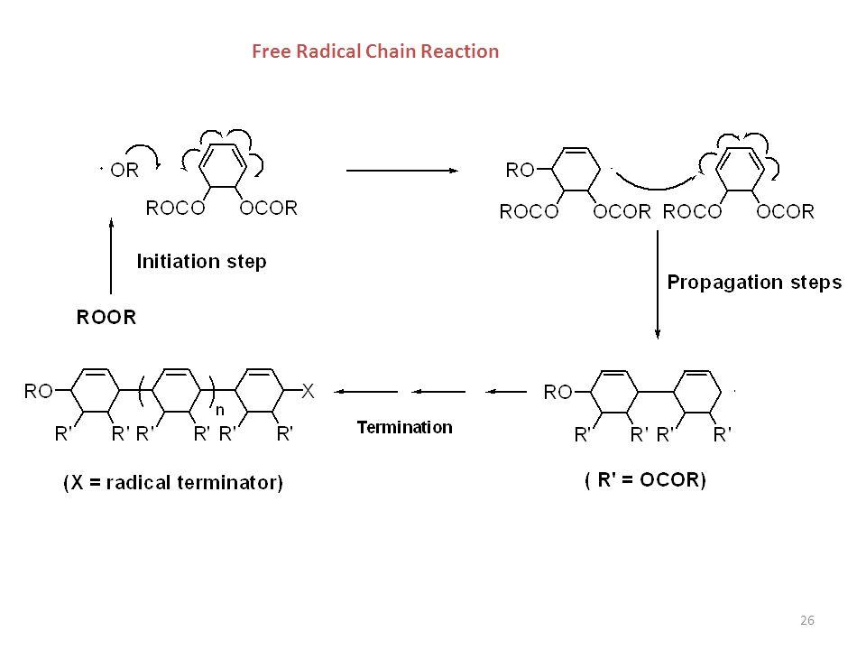 26 Free Radical Chain Reaction