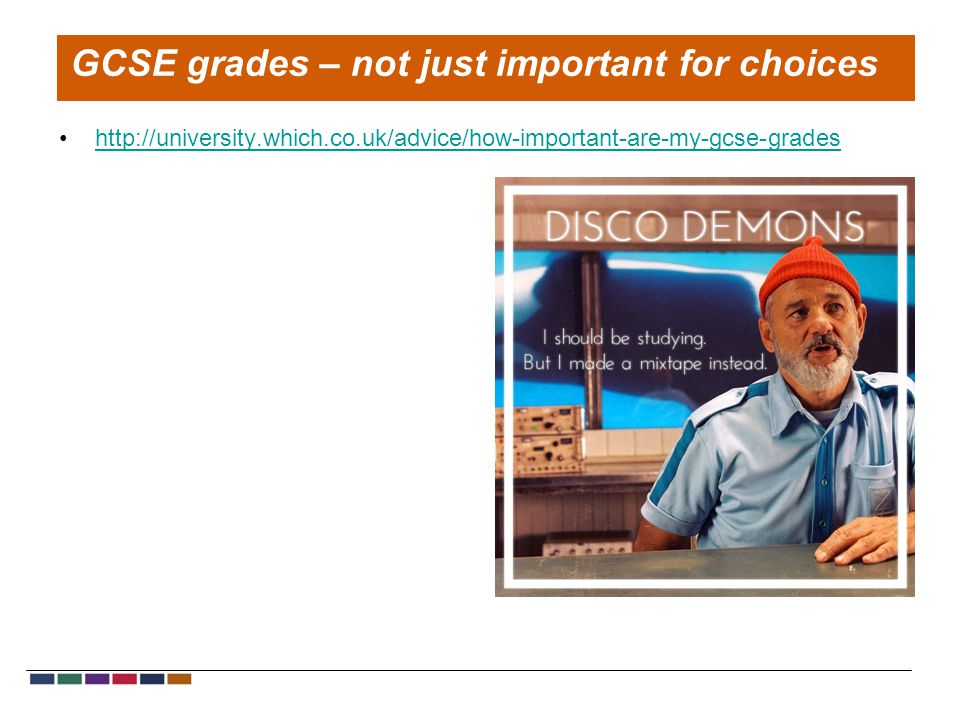 http://university.which.co.uk/advice/how-important-are-my-gcse-grades GCSE grades – not just important for choices