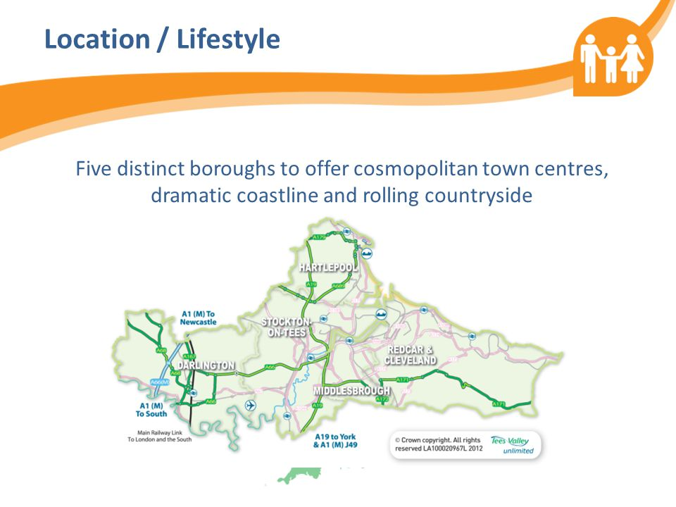 Location / Lifestyle Five distinct boroughs to offer cosmopolitan town centres, dramatic coastline and rolling countryside