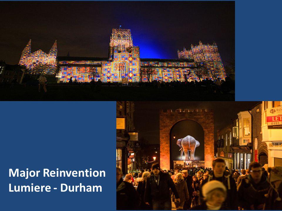 Major Reinvention Lumiere - Durham