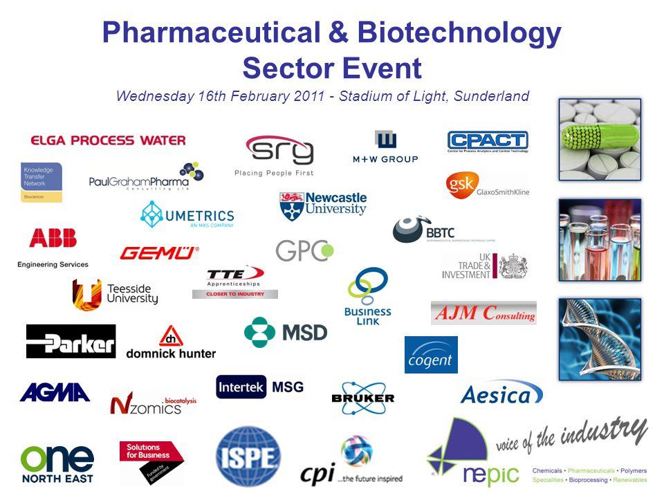 Pharmaceutical & Biotechnology Sector Event Wednesday 16th February 2011 - Stadium of Light, Sunderland