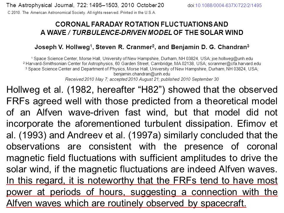 НОВЫЕ ЗАДАЧИ (2013-2014): 1.Выполнить сравнительный анализ материалов, полученных на различных фазах солнечной активности; 2.Определить характерные периоды вариаций фарадеевского вращения плоскости поляризации.