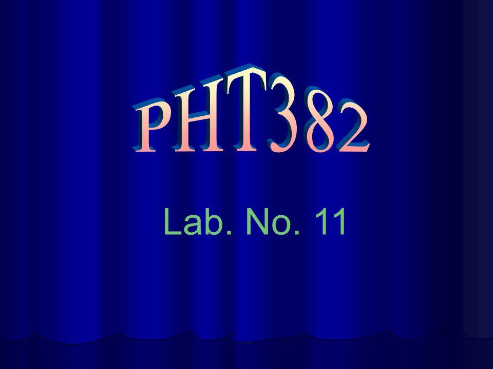Lab. No. 11