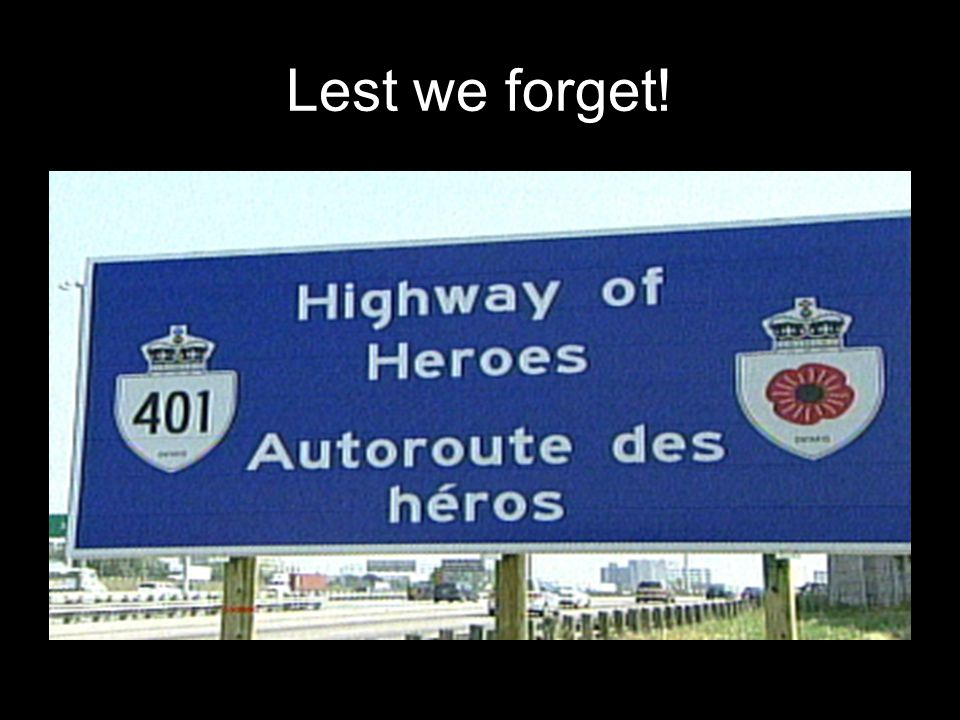 HIGHWAY OF HEROES MUSIC: LEE GREENWOOD GOD BLESS CANADA Plays Automatically