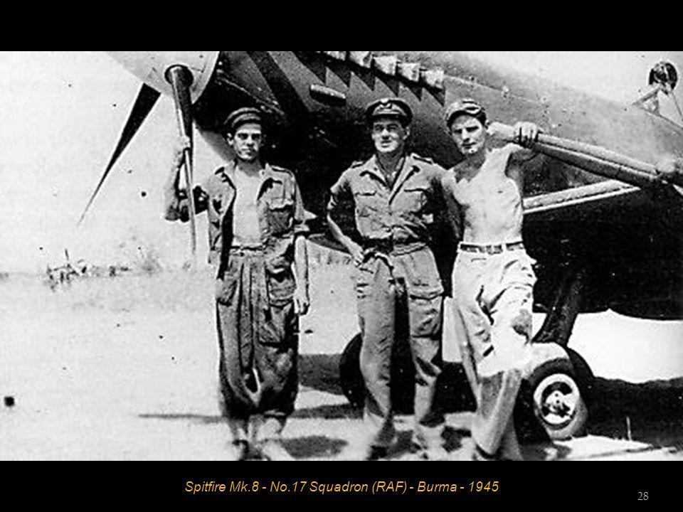 Spitfire Mk.8 - No.17 Squadron (RAF) - Burma - 1945 28