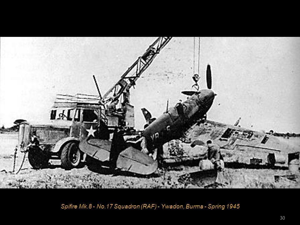Spifire Mk.8 - No.17 Squadron (RAF) - Ywadon, Burma - Spring 1945 30