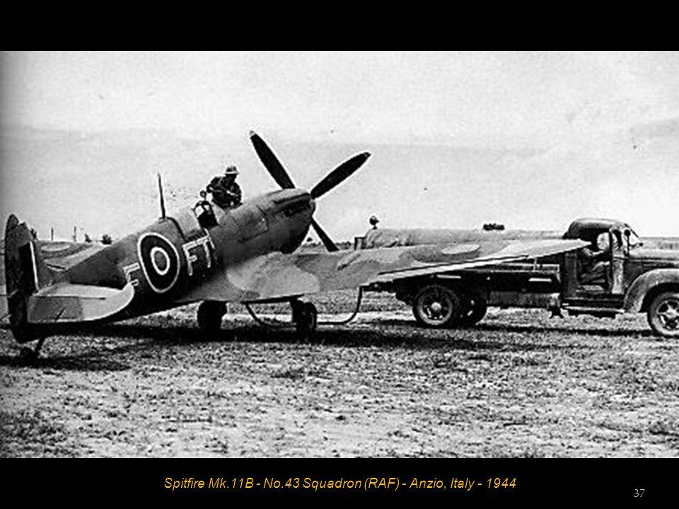 Spitfire Mk.11B - No.43 Squadron (RAF) - Anzio, Italy - 1944 37