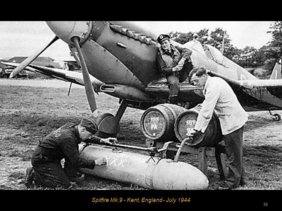 Spitfire Mk.9 - Kent, England - July 1944 38