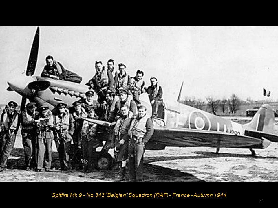Spitfire Mk.9 - No.343 Belgian Squadron (RAF) - France - Autumn 1944 41