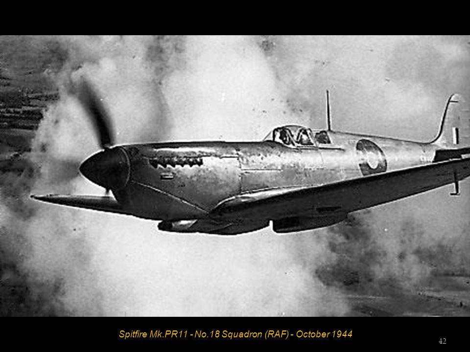 Spitfire Mk.PR11 - No.18 Squadron (RAF) - October 1944 42