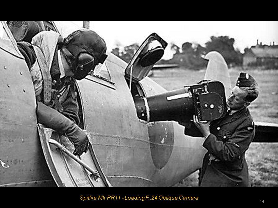 Spitfire Mk.PR11 - Loading F..24 Oblique Camera 43
