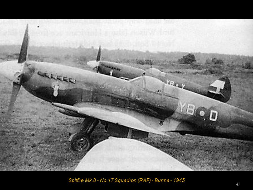 Spitfire Mk.14E - No.17 Squadron (RAF) - Madura, India - August 1945 Flight Lieutenant Don Healey 46
