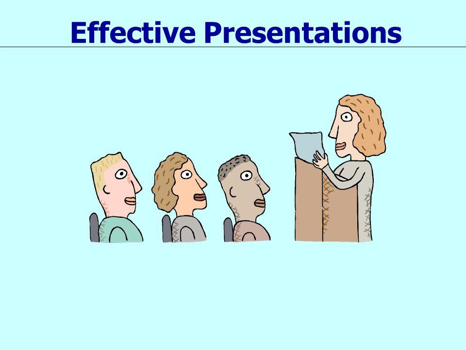 Planning Your Presentation