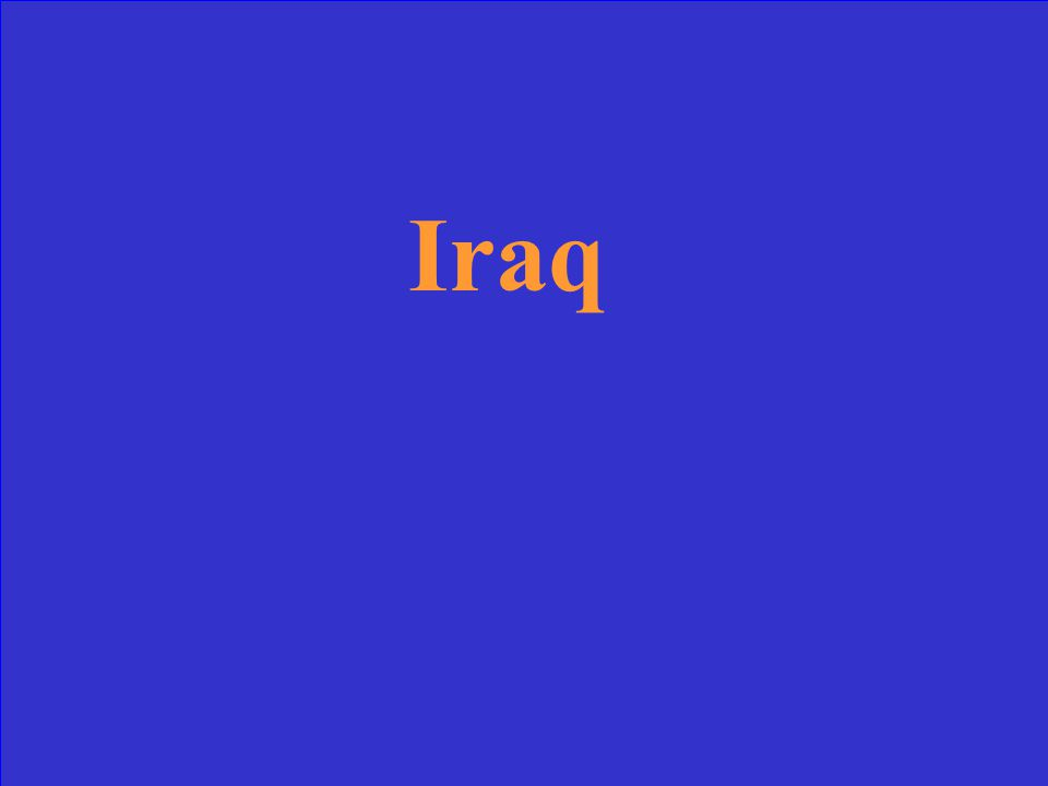 In what country do the Tigris and Euphrates merge and then flow into the Persian Gulf
